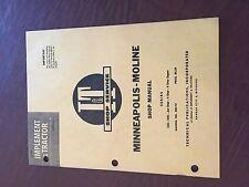 Iampt Minneapolis Moline Avery Shop Tractor Shop Manual 335 445 4 Star