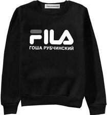 a0d4ece297a8 item 3 Mens Women s Pullover FILA Gosha Rubchinskiy Hooded Flag Logo  Hip-hop Sweatshirt -Mens Women s Pullover FILA Gosha Rubchinskiy Hooded  Flag Logo ...