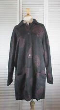 Women's Coats and Jackets -Good Dog Mud Pig  Coat - Black (S/ CBB )