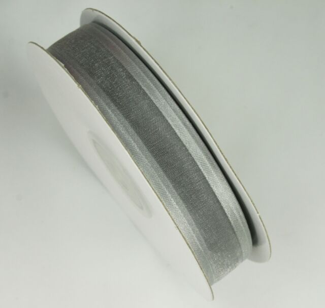 Bridal White Darice Satin Edge Organza Ribbon 5//8 x 10 yd