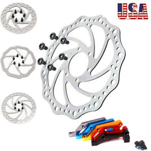 Rotor-de-Freno-de-disco-140-160-180-203mm-Bicicleta-de-Montana-Bici-es-Freno-De-Disco-Adaptador-de