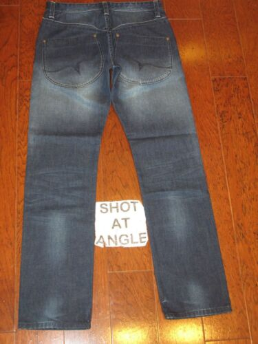 Distressed Leg 32 Wash Hommes Fairwhale Straight X Low Jeans Sz 30 Zwx7Rqz