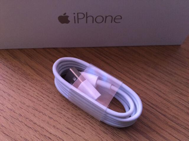 CABLE CARGADOR Y DATOS PARA IPHONE 7 5S 5C 6 6S PLUS *USB CABLE ORIGINAL* iOS10