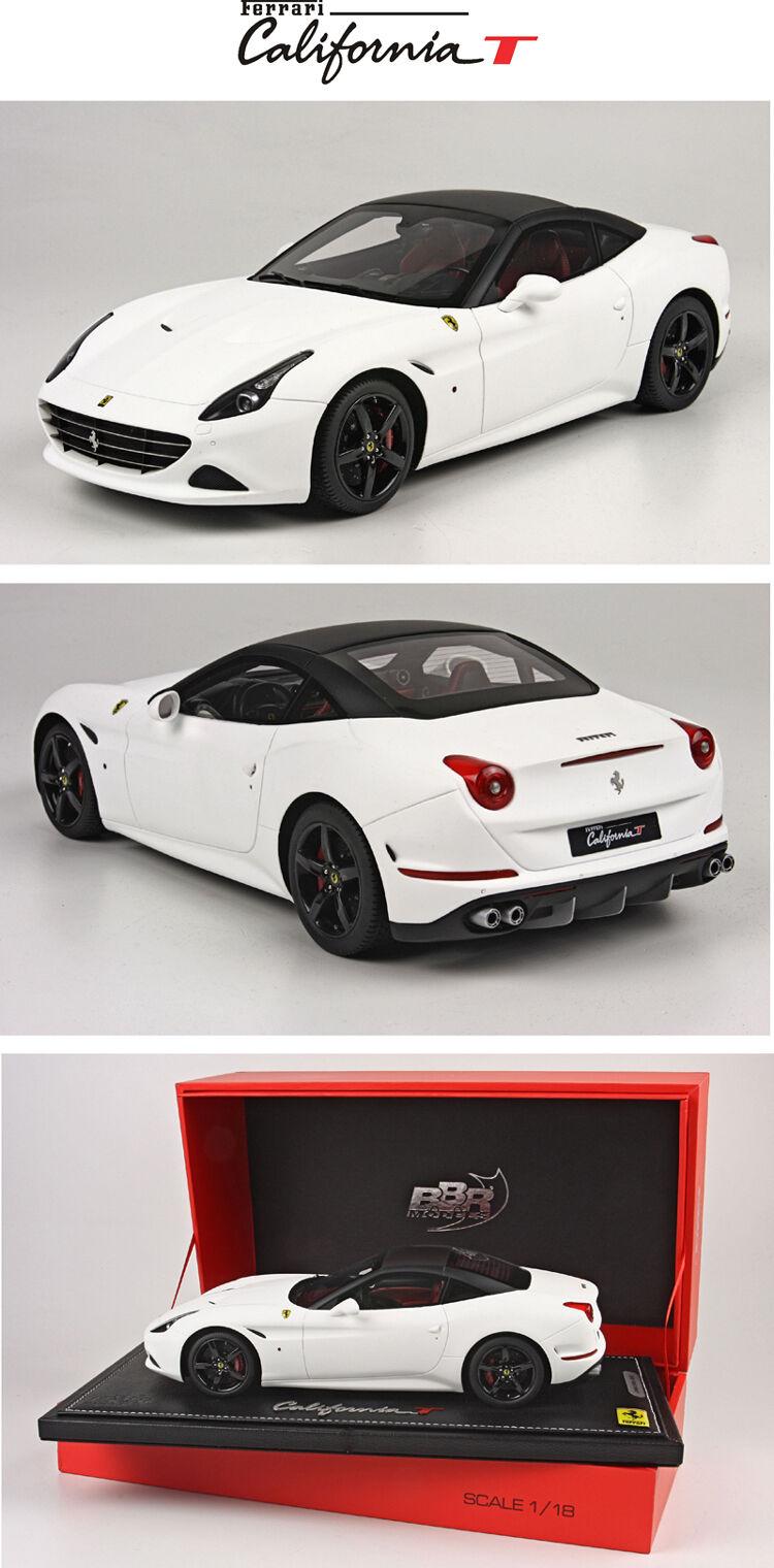 Ferrari Calfornia T-2014 Matt blanc CLOSED ROOF 1 18  lim. edition 40 pcs P1880W