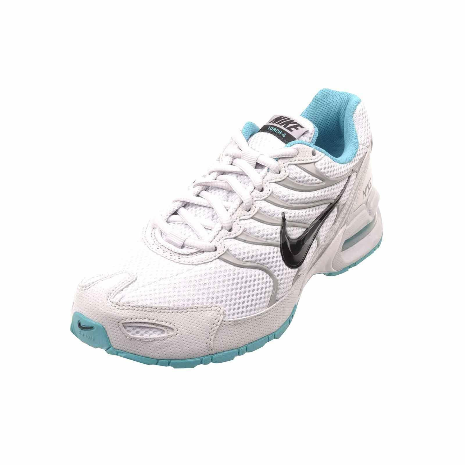 detailing ef0db a0d55 ... NWT Women s Nike Air Max Torch 4 4 4 Running shoes White Turq 343851  009 Wh ...