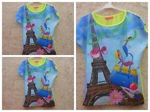 Intelligent Shirt,t-shirt Tunika Mädchen,kurzarm Bluse Top Mit Pariser Flair ZuverläSsige Leistung