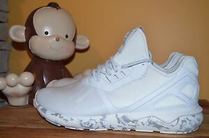 brand new be129 8d124 Details about NEW ADIDAS TUBULAR RUNNER Trainers SZ 11 Rare Vintage White  F37531 flux boost