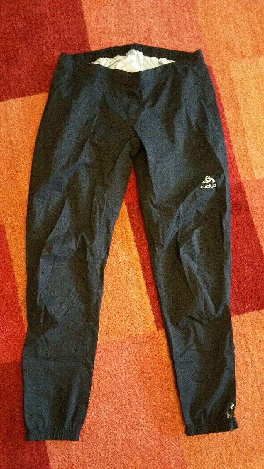 1 getragen x getragen 1     Odlo Herren Pants Morzine Rain Lange Hosen XXL acad9a