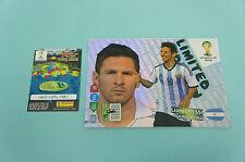 Panini Adrenalyn XL WM 2014 Lionel Messi  XXL Limited Edition Brasil