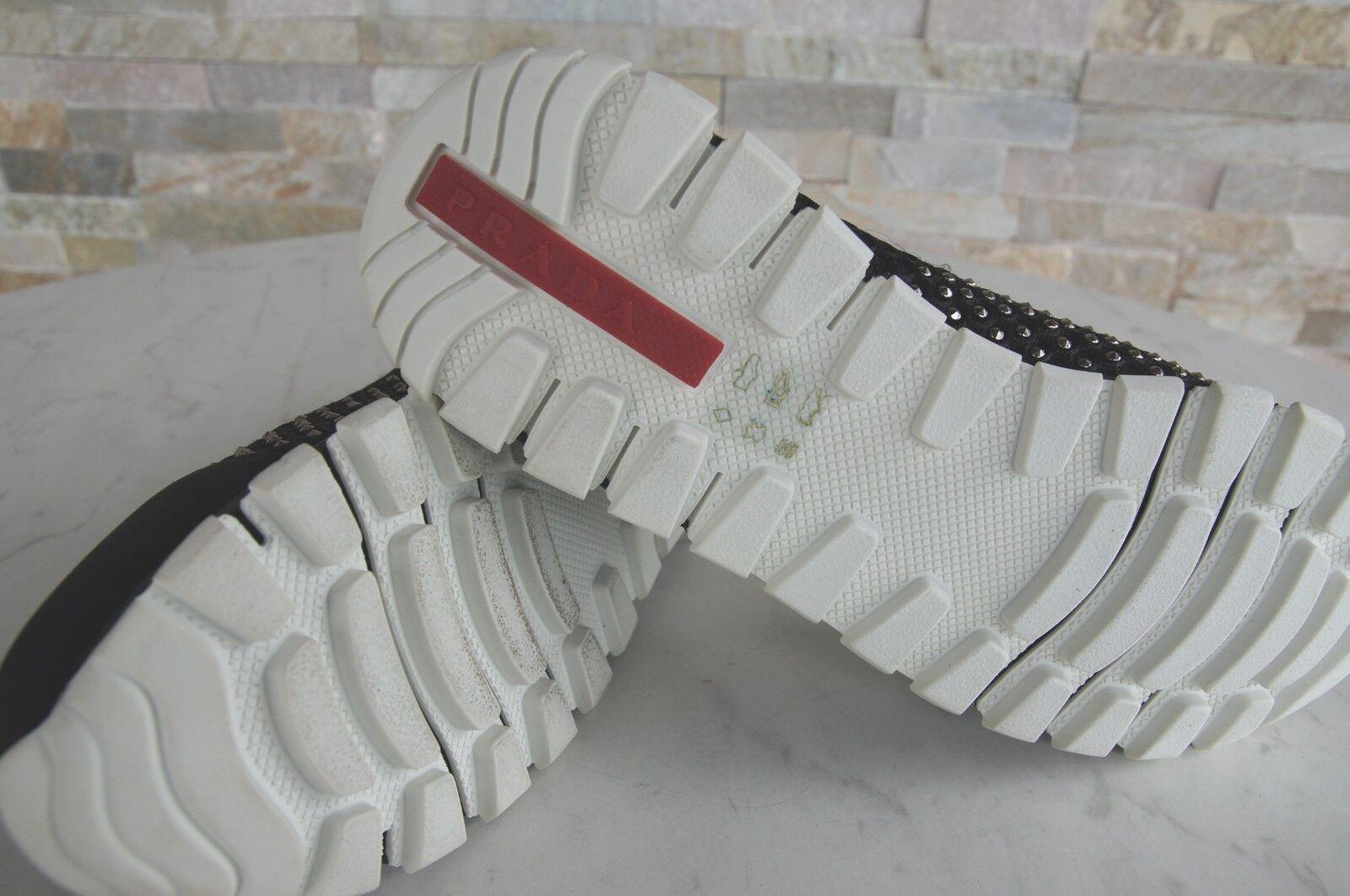 PRADA Gr 36 36 Gr Ballerinas Slipper Schuhe BEE 3F6158  schwarz NEU a0cb52