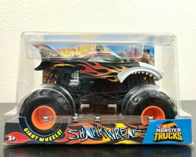 Hot Wheels Monster Trucks Shark Wreak 1 24 Scale For Sale Online Ebay