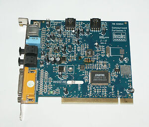 HERCULES Sound Card Fortissimo II Driver Windows
