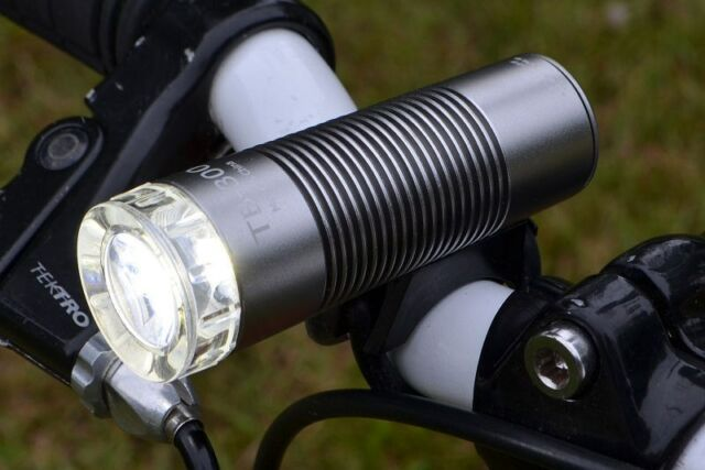 Lumintrail TB-300 Compact USB rechargeable Bike Light in Silver (TB-300 Silver)