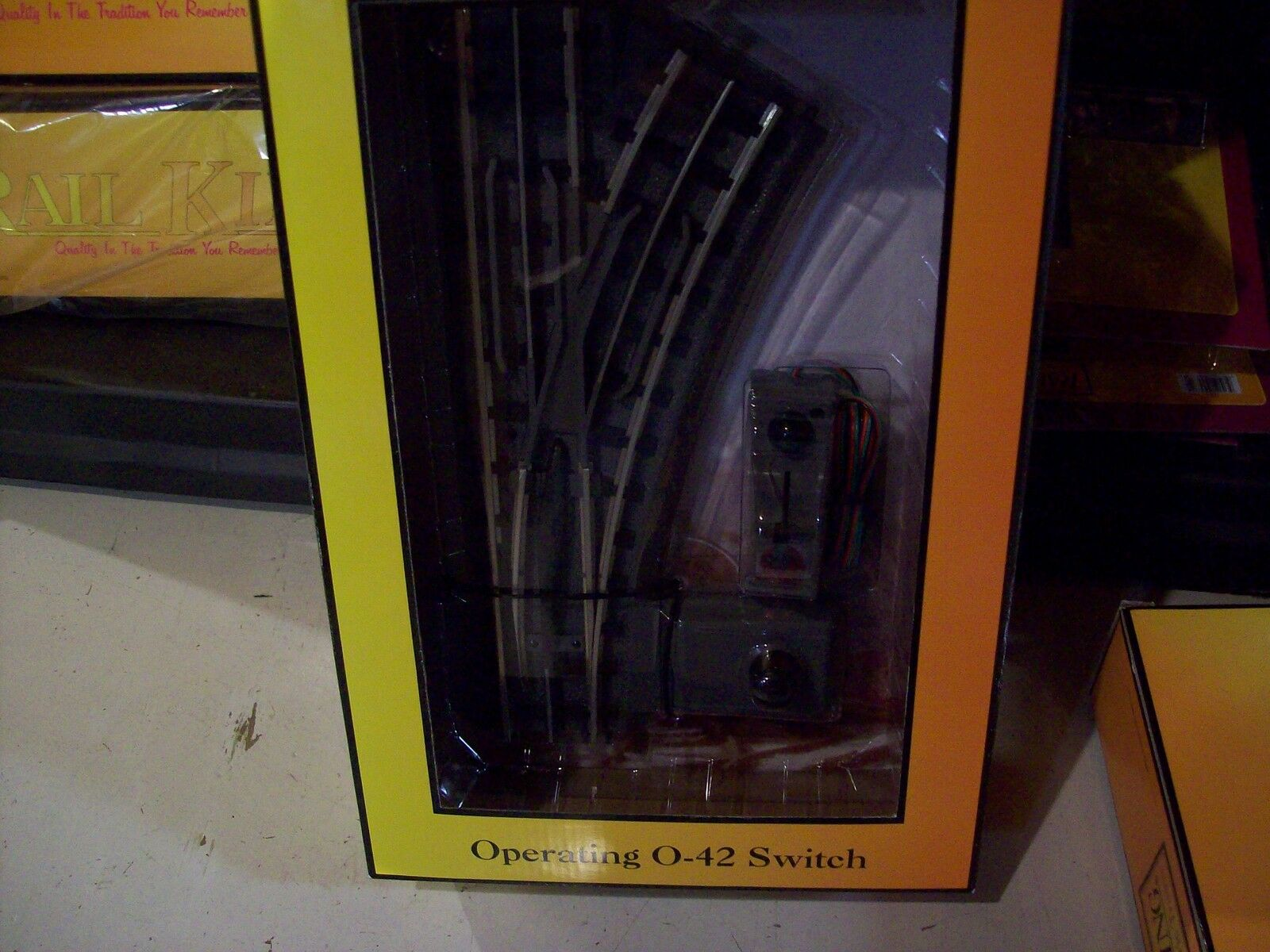 MTH Railking O Scale Trains Operating O-42 Right Hand Switch 40-1043