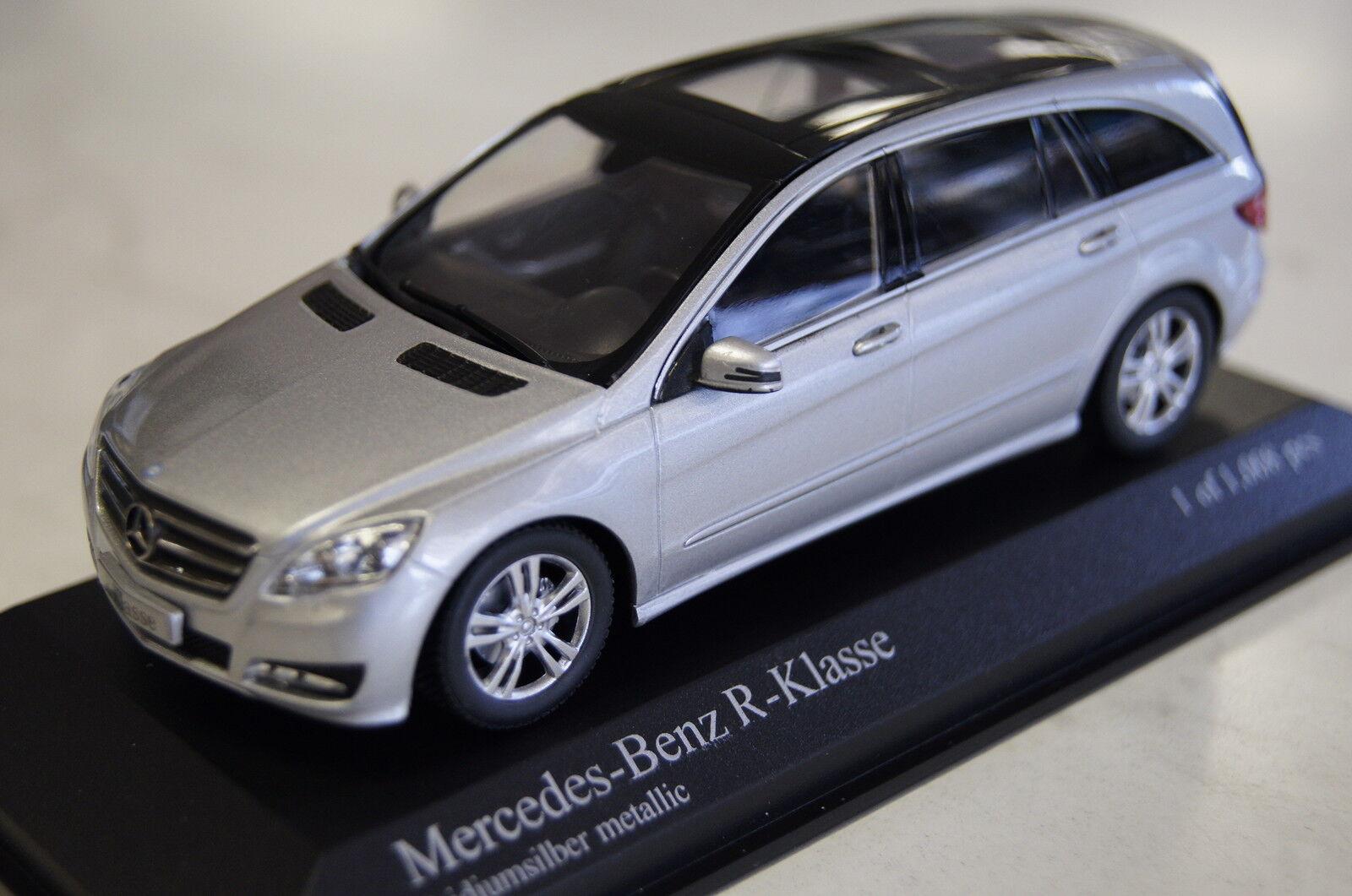 Mercedes R-Klasse 2010 2010 2010 silver 1 43  Minichamps neu & OVP 185be5