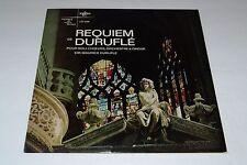 Requiem De Durufle~Maurie Durufle~Musique De Notre Temps~Erato LDE 3098~IMPORT