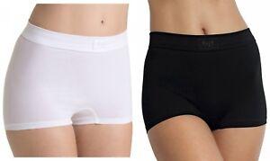 Sloggi Womens Double Comfort Short Brief White