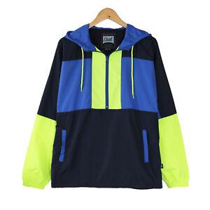 Teen-039-s-Men-Hooded-Lightweight-Windbreaker-Pullover-Outdoor-Jacket-Christmas-Gift
