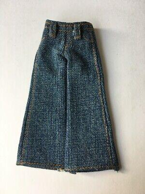 """Abile Mga Bratz Jeans Denim Cuciture Color Arancio Pocket Fit 10"""" Bambole Anche 8"""" Mego Shimmyshim-mostra Il Titolo Originale Morbido E Antislipore"""