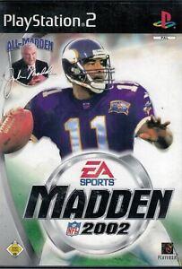 Madden NFL 2002 [video game]