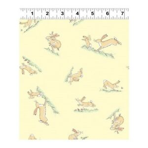 Fat Quarter Guess How Much I Love You 2018 Hare Circle Cotton Quilting Fabric