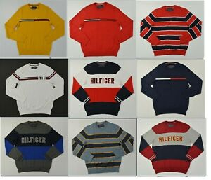 NWT Men/'s Tommy Hilfiger Crew Neck Cable Knit Pullover Sweater Listing 6