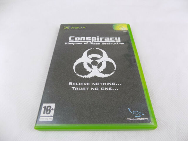 Mint Disc Xbox Original Conspiracy Weapons Of Mass Destruction  PAL Free Postage