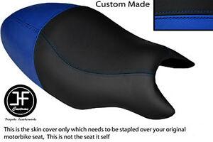 BLACK AUTOMOTIVE VINYL CUSTOM FITS CAGIVA RAPTOR 650 1000 DUAL SEAT COVER ONLY