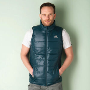 Details about Men's Adidas 'BC Padded Vest' Gillet Jacket (AB3394)