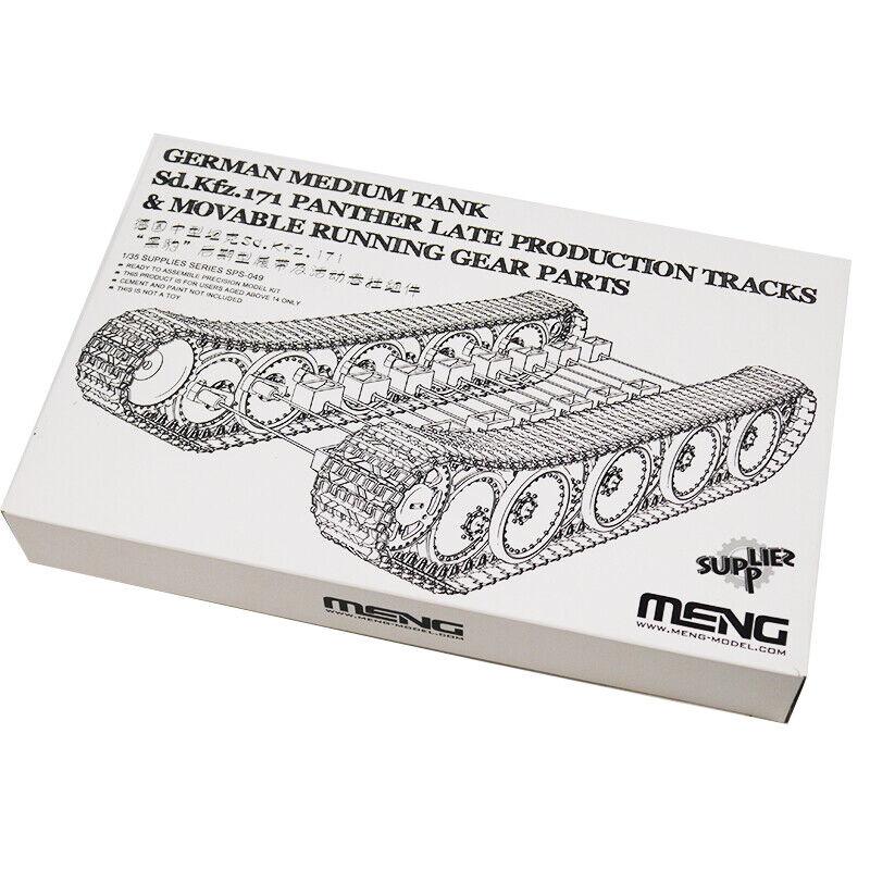 Meng Model 1:35 MNGSPS-049 Sd.Kfz.171 Panther Tracks /& Running Gear