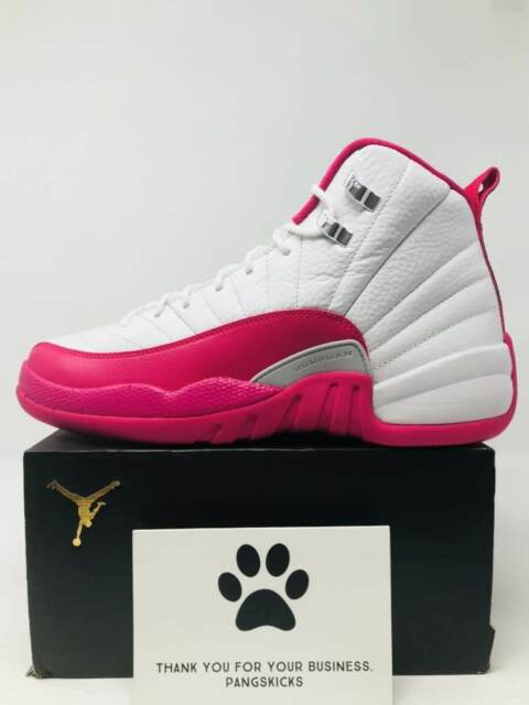 b263c88da4b2 Nike Air Jordan Retro 12 510815-109 Youth S 3.5 Girls Sz 5 Vivid Pink