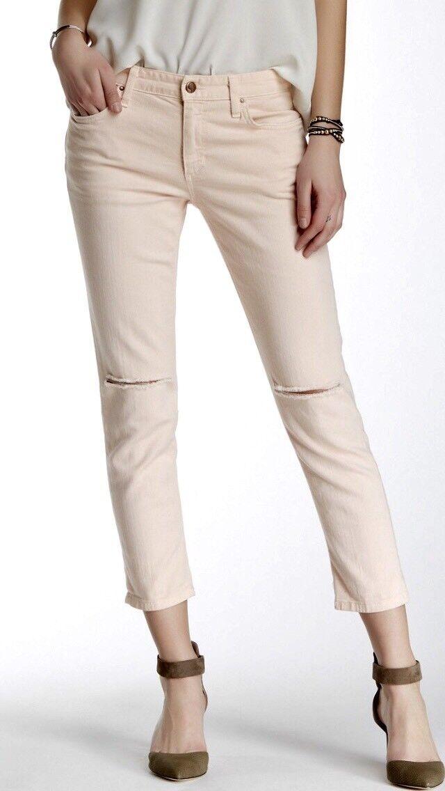 Joe's Jeans Women's Denim Billie Crop Porcelain Boyfriend Slim Jean Size 27 NWT