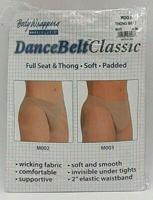 Body Wrappers Men S Full Seat Support Dance Belt M003 Ebay