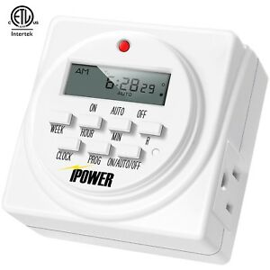 iPower-Heavy-Duty-Digital-Electric-Programmable-Dual-Outlet-Timer-Plug-Indoor