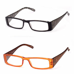 Women Fashion Reading Glasses Readers IG Patterned Frame ...