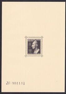 Bohmen-amp-Mahren-Michel-Nr-131-Heydrich-Block-1943-als-Faksimile