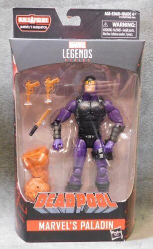 Marvel/'s Paladin w//Build-A-Figure Sasquatch Deadpool Marvel Legends