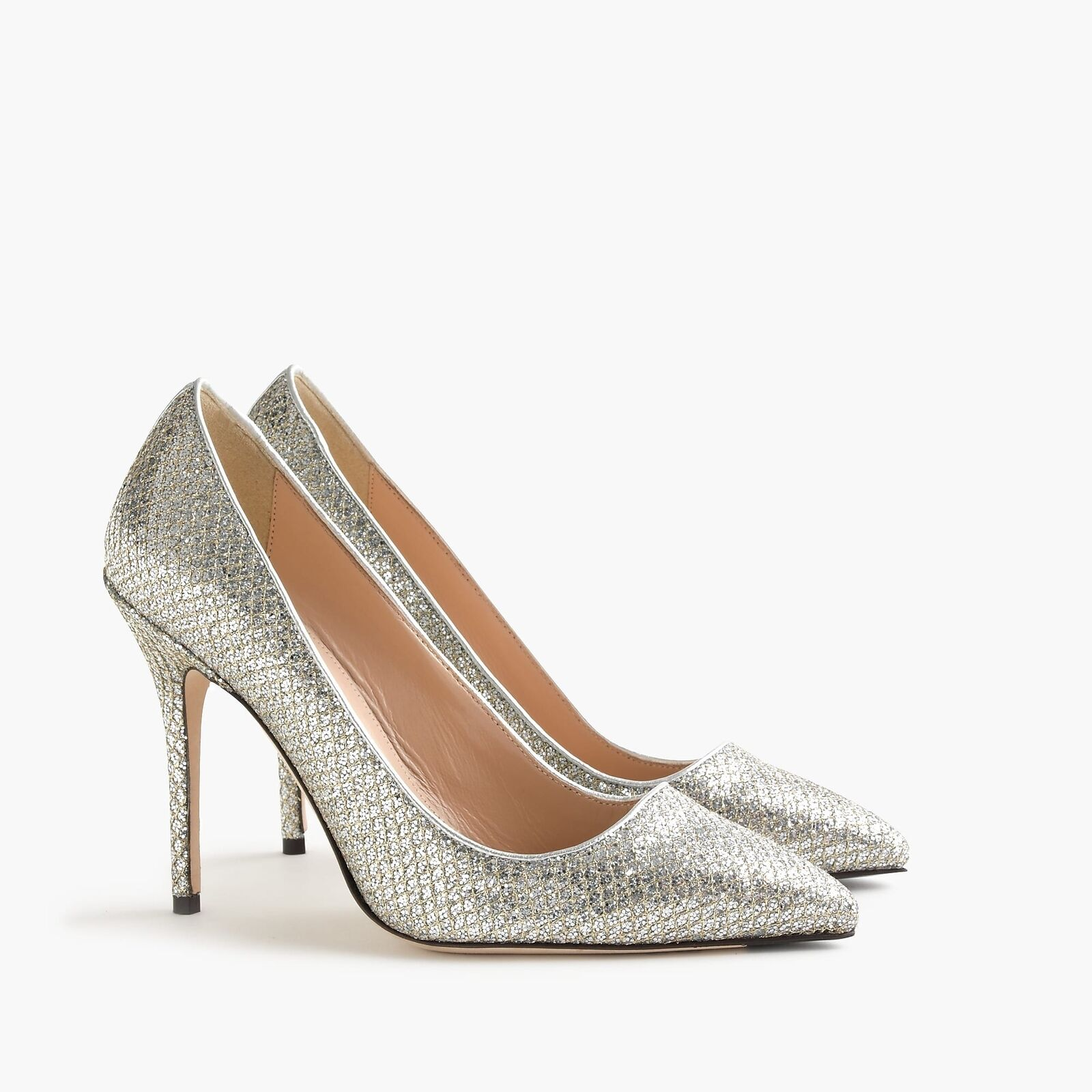 caldo NWOB J. Crew Roxie Glitter Pumps Dimensione 9 SOLD SOLD SOLD OUT  Retailed New  278  risposte rapide