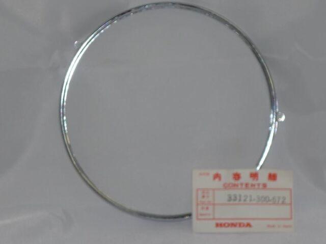 Honda NOS OEM ring, headlight retaining fits CB550 1976, 33121-300-672