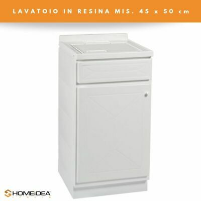 Top Line Mobile Lavatoio in Resina 45x50 cm 1 Anta MOD