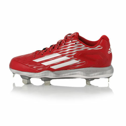Adidas Men's Power Alley 3 Metal Baseball Cleats Size 12.Red S84760Free Shipping