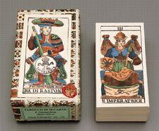 TAROCCO DI F. GUMPPENBERG MILANO 1840 REPLICA TAROT CARD DECK -MENEGHELLO *NIB*