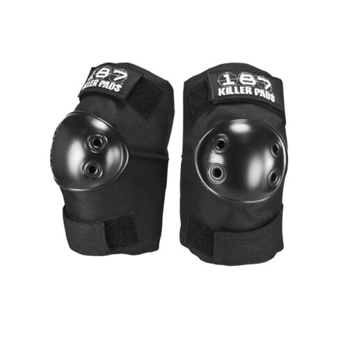 187 Pads Elbow Pads Skateboard Protective Gear Black Size Large