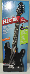first act electric guitar solid wood maple neck black new super cheap deal 4 u ebay. Black Bedroom Furniture Sets. Home Design Ideas