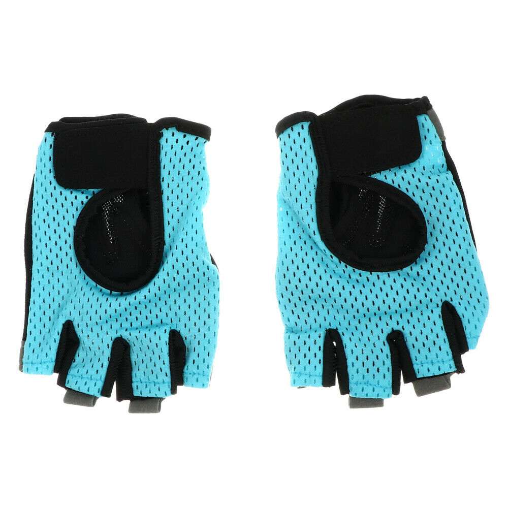 1 Pair Protective Durable Practical Breathable Half-finger for Outdoor