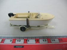H380-0,5# WIKING H0 Anhänger mit Motorboot, 95, NEUW