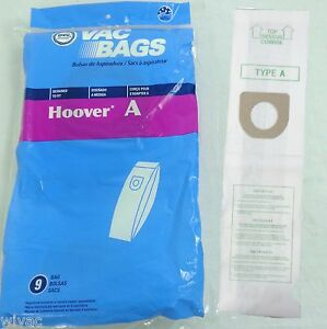HOOVER-TYPE-A-Upright-Vacuum-Bags-Bissell-Style-2-Kenmore-5037-50378-9pk