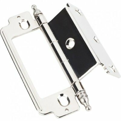 """Furniture Cabinet Hinges Inset Polished Nickel 3//4/"""" x 3//4/"""" x 4/"""" hx178"""
