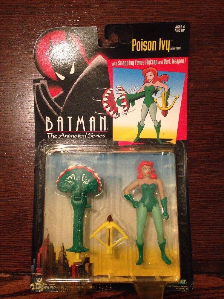 Batman  Poison Ivy  w  Snapping Venus Flytrap & Dart Weapon NIB