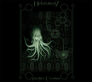 NekronoiZ-Kenji-Siratori-Sacrifice-Creature-CD-Digipack